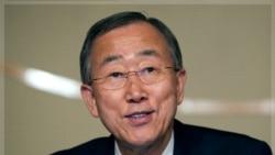 دبیر کل سازمان ملل متحد می گوید نگران تسلیحات حزب الله است