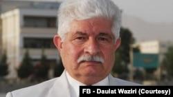 افغان سیاسي څېړونکی او د پوځ پخوانی جنرال دولت وزیري