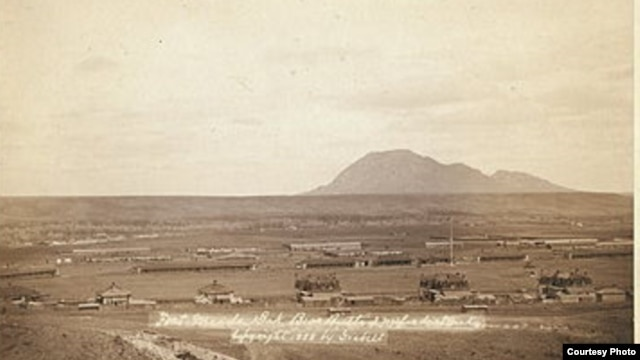 Fort Meade, South Dakota, circa 1878 (Courtesy Old Fort Meade Museum)