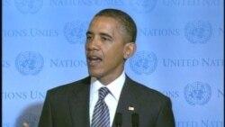 奥巴马联合国发言谈阿拉伯之春和中东和平