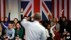 بارک اوباما به پرسش های جوانان بریتانیایی پاسخ داد.