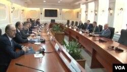 Sastanak koordinacionog tima Kosova za dijalog s Beogradom, u Prištini, 14. januara 2019. godine