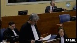 Branitelj Ratka Mladića Branko Lukić na suđenju u Hagu, 30. siječanj 2013.