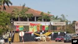 Siège du PAIGC, ancien parti au pouvoir à Bissau