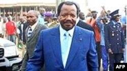 Tổng thống Cameroon Paul Biya nói quan hệ giữa Trung Quốc và nước ông phản ánh quan điểm chung về các chính sách quốc tế