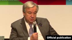ကုလသမဂၢအတြင္းေရးမွဴးခ်ဳပ္ Antonio Guterres က