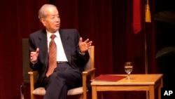中国国务院前副总理、外交部前部长钱其琛