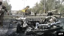 Bağdaddakı Yaşıl Zona yaxınlığında bomba partlayışları həyata keçirilib