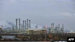 Một cơ sở hạt nhân gần trung tâm thành phố Arak của Iran, 15/1/2011