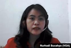 Dr Firlianty, Kepala Pusat Penelitian Gender dan Perlindungan Anak, LPPM Universitas Palangkaraya. (Foto: VOA/Nurhadi Sucahyo)