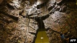 Tường leo núi ở trường đại học Houston