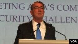 Ashton Carter, Singapur'da Asya Güvenlik Zirvesi'ne katıldı