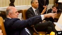 Хайдер Абади и Барак Обама
