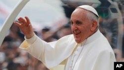 로마 카톨릭 프란치스코 교황. (자료사진)