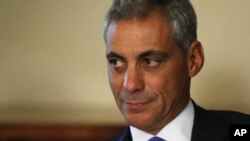 FILE - Chicago mayor Rahm Emanuel.