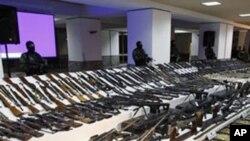墨西哥因販毒而引起的槍支暴力問題嚴重。