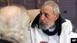 쿠바의 피델 카스트로 전 국가평의회 의장 (자료사진)