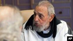Mantan presiden Kuba, Fidel Castro (foto: dok).