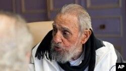 Cựu Chủ tịch Cuba Fidel Castro.