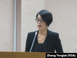 同性恋者收养诉讼律师李晏榕 (美国之音张永泰拍摄)