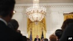 Trump ofreció un cambio en su postura ante al programa de Acción Diferida (DACA), firmado en 2012 por Obama.