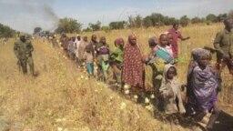 Wadanda Aka Ceto Daga 'Yan Boko Haram
