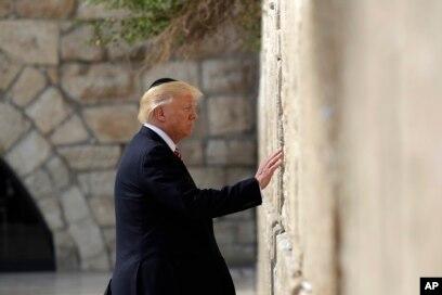 د امریکا جمهور رئیس دونالد ټرمپ غواړي بیت المقدس په رسمي توگه د اسرائیل د پایتخت په توگه وپیژني