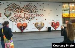 San Francisco chào đón du khách (ảnh Bùi Văn Phú)