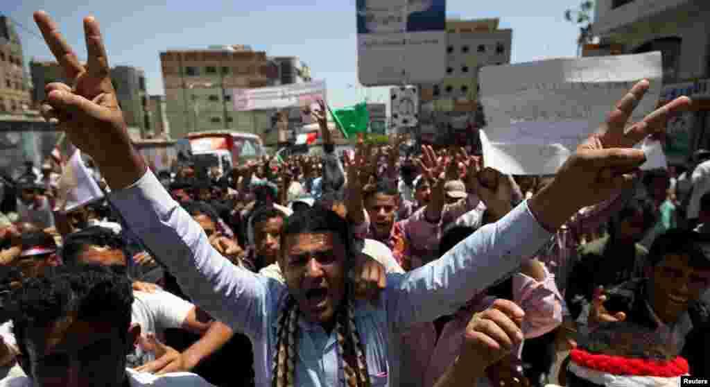 """یمن میں 2012 سے خانہ جنگی جاری ہے جب عوامی تحریک کے ذریعے یمن کے دیرینہ """"مردِ آہن"""" صدر علی عبداللہ الصالح کو اقتدار سے علیحدہ ہونا پڑا۔"""