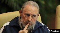 Mantan Presiden Kuba, Fidel Castro saat menghadiri penutupan kongres Partai Komunis Kuba di Havana, 19 April yang lalu (Foto: dok). Hari ini Fidel Castro genap berusia 86 tahun.