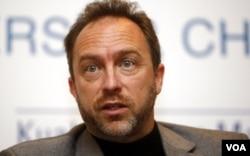 维基百科(Wikipedia)联席创始人吉米•威尔斯(Jimmy Wales)