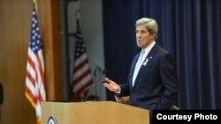 美国国务卿克里 (美国国务院官方网站)