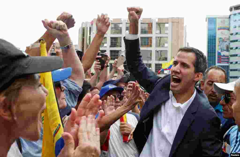 رئیس جمهوری موقت ونزوئلا قرار است با همکاری پارلمان قرار است دولت موقت تشکیل دهد
