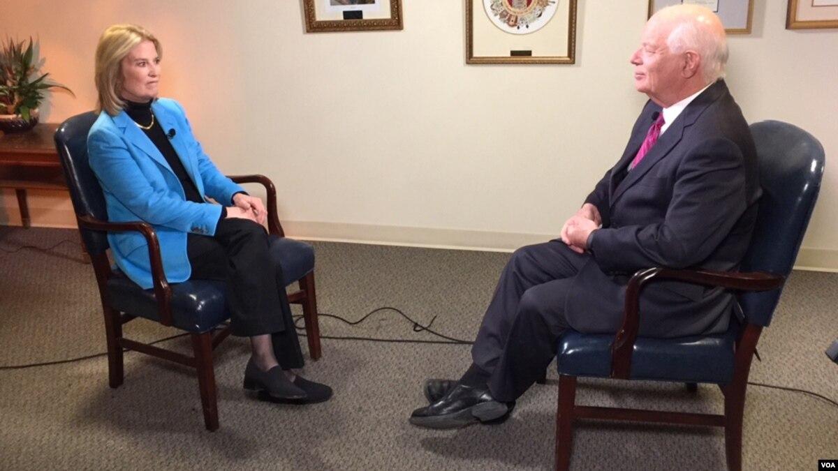 Transcript of VOA Interview with Senator Ben Cardin