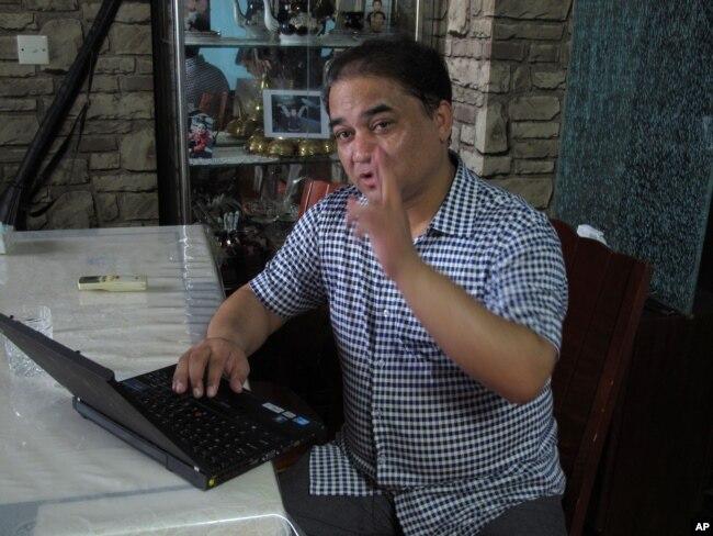 伊力哈木2013年5月在北京接受采访