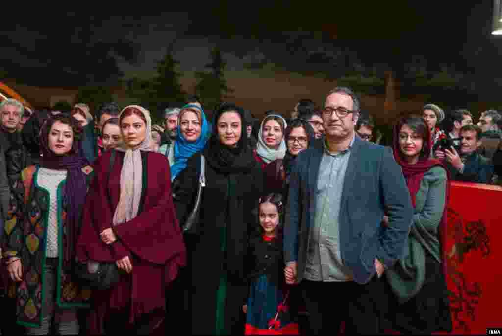 فرش قرمز فیلم دختر به کارگردانی رضا میرکریمی