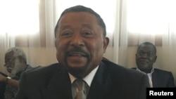 L'opposant gabonais Jean Ping participe à une réunion à Libreville, Gabon, le 26 septembre 2016.