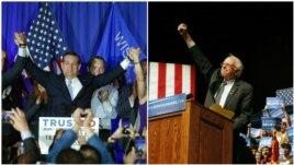 Cruz, Sanders fitojnë në Uiskonsin