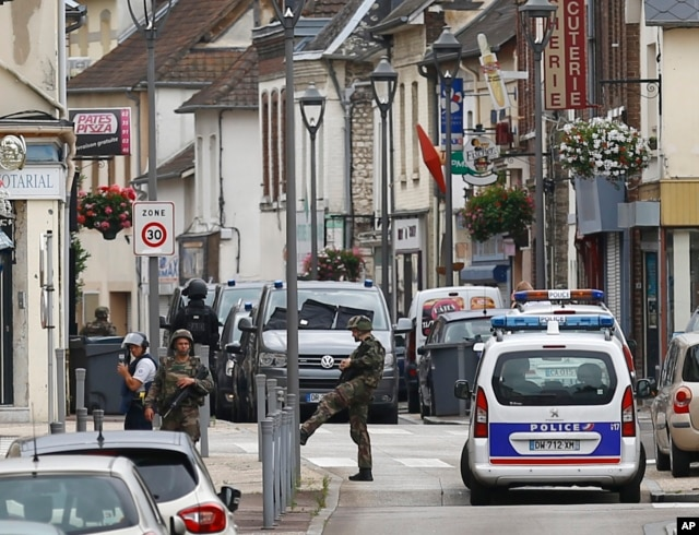 France Hostage Taking.