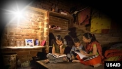 Simpa Networks' Lights for Education (photo - Simpa via USAID)