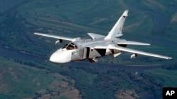 طیارۀ سرنگون شدۀ روسی از نوع سو ۲۴ بود.