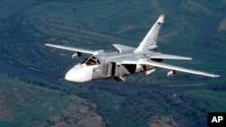 طیارۀ سوخوی روسیه به تاریخ ۲۴ نومبر توسط قوای ترکی سقوط داده شد.