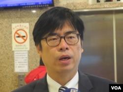 台湾执政党民进党立委陈其迈(美国之音张永泰拍摄)