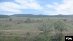 布里亞特境內俄羅斯蒙古邊境地區(美國之音白樺拍攝)