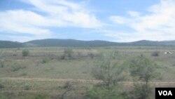 布里亚特境内俄罗斯蒙古边境地区(美国之音白桦拍摄)