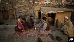 Pengungsi Afghanistan di sebuah kamp di luar Islamabad, Pakistan (foto: dok).