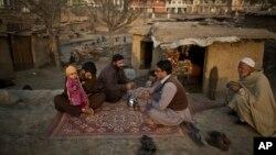 Pengungsi Afghanistan tinggal di tempat penampungan di Islamabad, Pakistan (foto: dok).