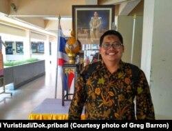Pengamat dan dosen pariwisata Sekolah Vokasi Universitas Gadjah Mada, Ghifari Yuristiadi. (Foto: Dok. pribadi)