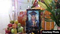 Tang lễ em Lê thị Phước Hải