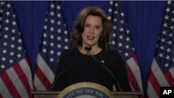 Madam Gretchen Whitmer, Gouvènè eta Michigan